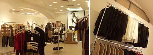 Displaying (17) Gallery Images For Store Clothing Rack