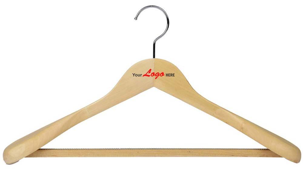 Logo on hangers
