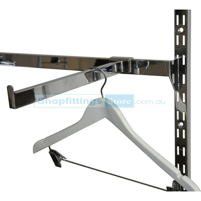 Straight Arm for Crossbar 300mm Chrome