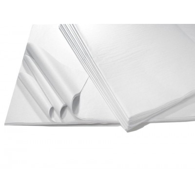 Tissue Paper White Acid Free 500x750mm(480 sheets ream)