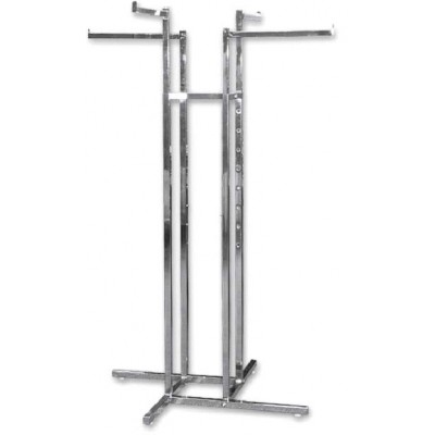 4 Way Clothes Rack With All Straight Arms