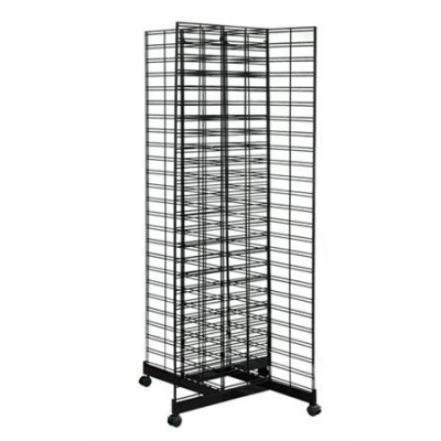 Slat Grid Gondola with 4 Way Base