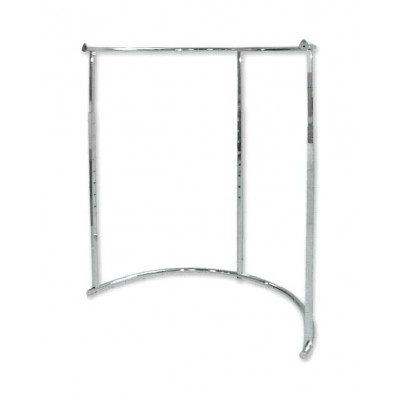Half Round Clothing Rack