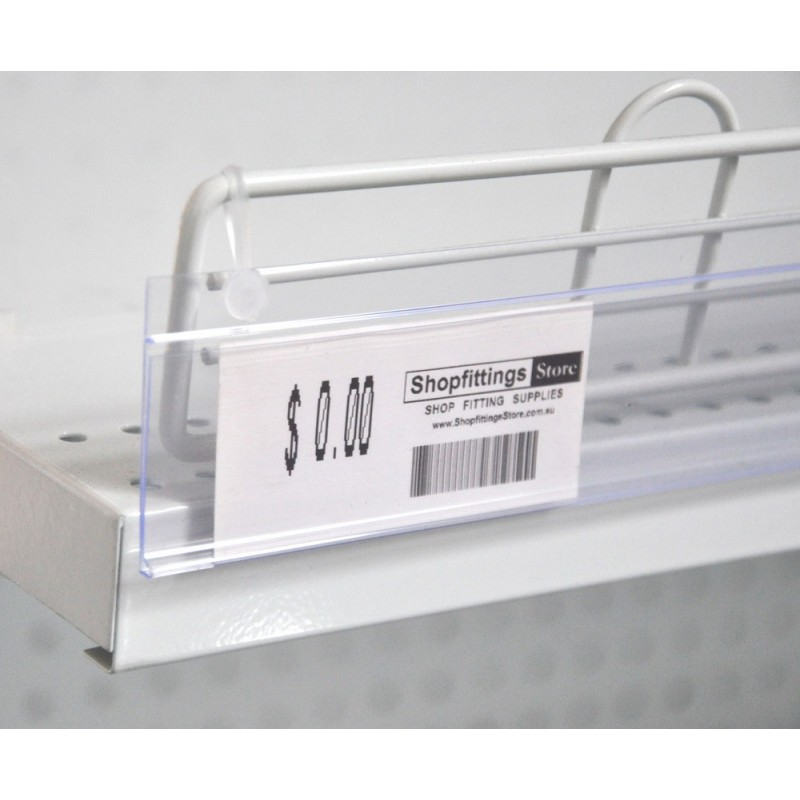 Hanging Data Strip 35 x 1200 mm Clear