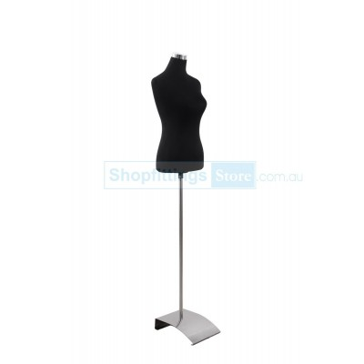 Budget Female Fabric Torso Black