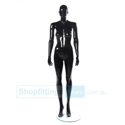 Gloss Female Abstract Mannequin SUE2 Black