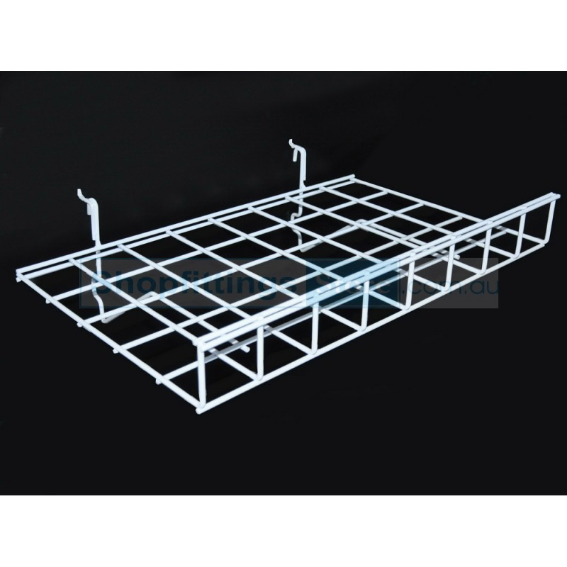 Wire Shelf with Lip