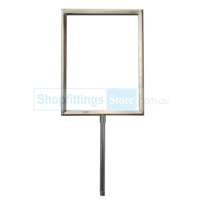 Metal Sign Holder Frame Ticket Frame Sign Frame