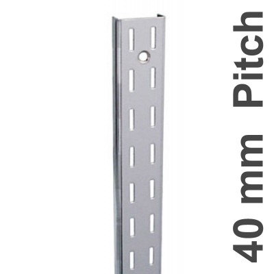 Wall Strip 40mm Pitch Double 2400mm