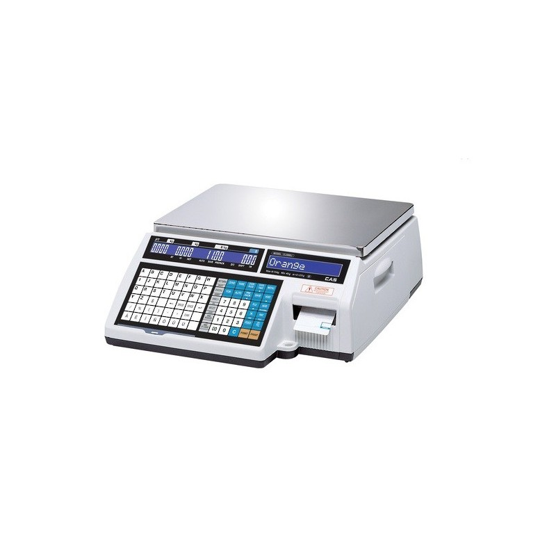 CAS CL-5000J Barcode Label Printing Scale