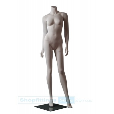 Female Headless Mannequin PL1 White