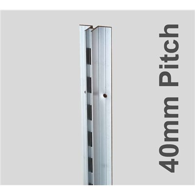 Concealed Aluminum Stripping Single 2400mm