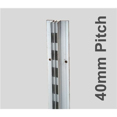 Concealed Aluminum Stripping Double 2400mm