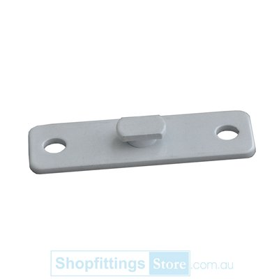 Wall Mount Bracket for POST50 uprights CHROME