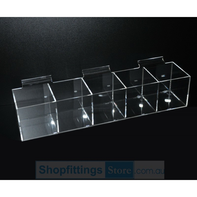 Slatwall Acrylic display box 5
