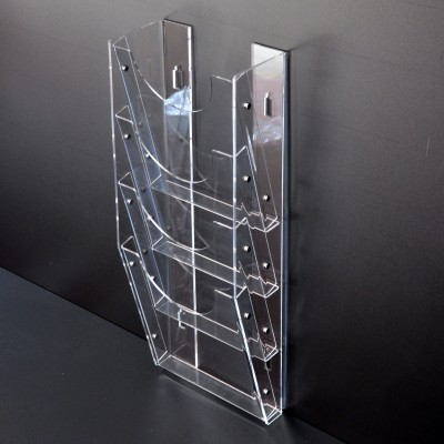 Acrylic Wall Mounted Brochure Holder 4XA4