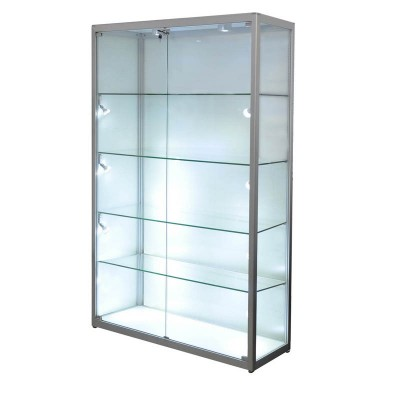 Display Glass ShowCase Framed Trophy with LED Lighting
