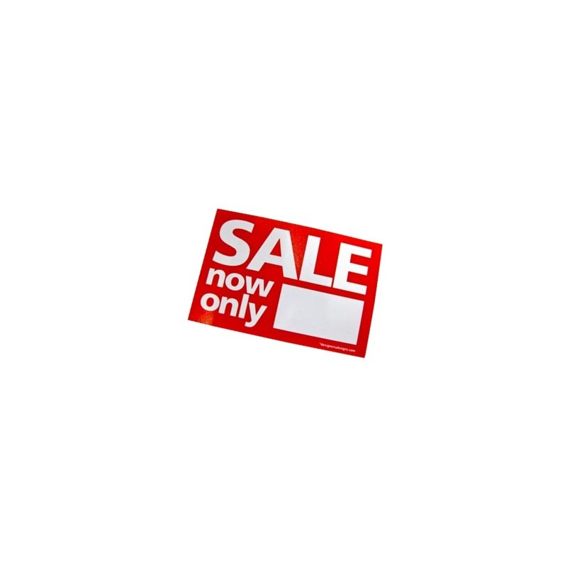 """""""SALE now only"""" Stickers - sticker roll"""