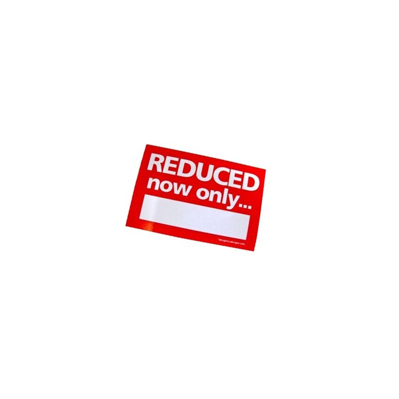 """""""REDUCED now only"""" Stickers - sticker roll"""