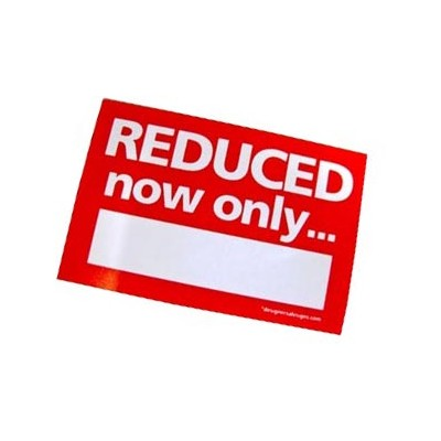 """REDUCED now only"" Stickers - sticker roll"