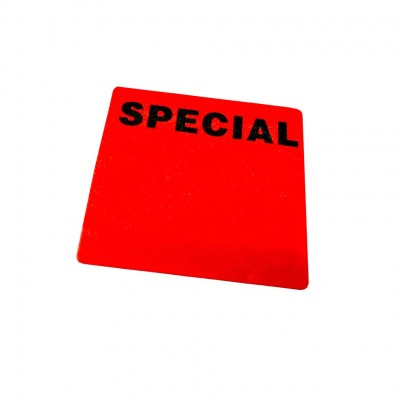 """SPECIAL"" Writable Square Sale Stickers"