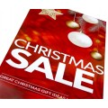 """""""CHRISTMAS SALE"""" - Sale Sign Posters - 4 pack"""