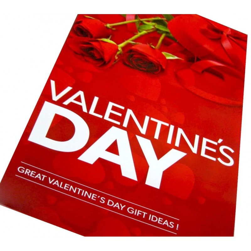 Valentines Day Posters Signs - 4 pack