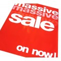 """MASSIVE SALE ON NOW"" - Sale Signs/Posters - 4 pack"
