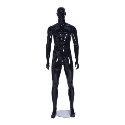 Gloss Male Abstract Mannequin BEN06 Black Gloss