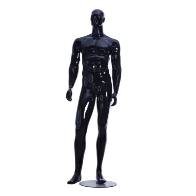 Gloss Male Abstract Mannequin BEN04 Black