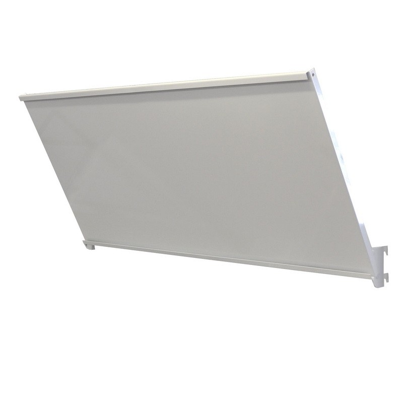 Sign Holder for Metal Gondolas 50mm pitch White
