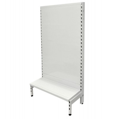 Single Sided Flat Back Gondola White
