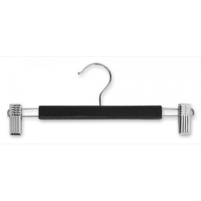 Adult Wood Clip Hanger Black