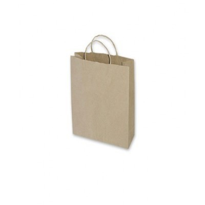 Extra Small Brown Paper Bag 160x50x260 (pack 100)