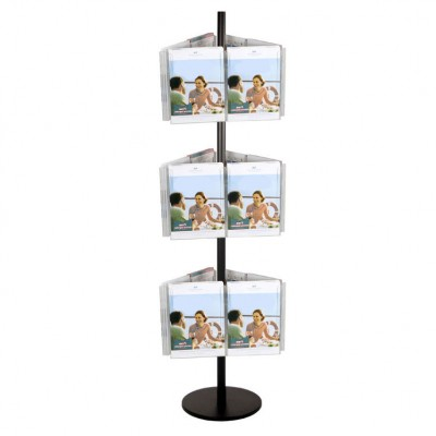 18A4 Brochure Holders Carousel