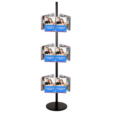 18A5 Brochure Holders Carousel