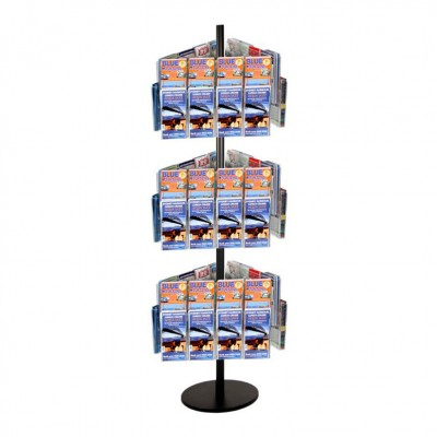72DL Brochure Holders Carousel