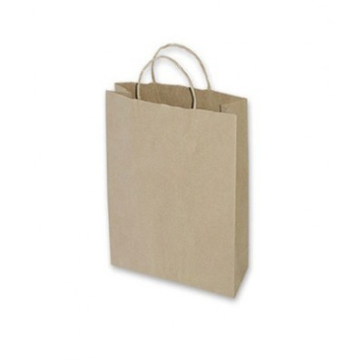Small Brown Paper Bag 260x95x350 (pack 100)