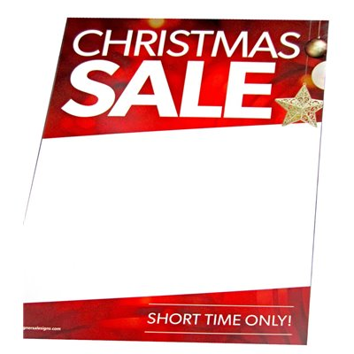 CHRISTMAS SALE - Sign Cards A4 - 5 Pack