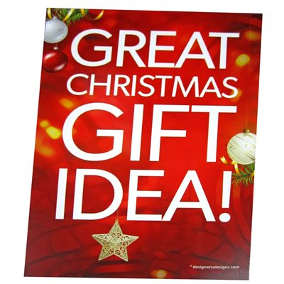 """Great Christmas Gift Idea!"" - Sign Cards A6 - 5 Pack"