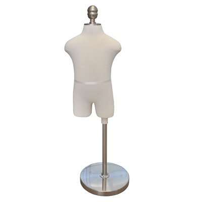 Child Fabric Torso Premium White