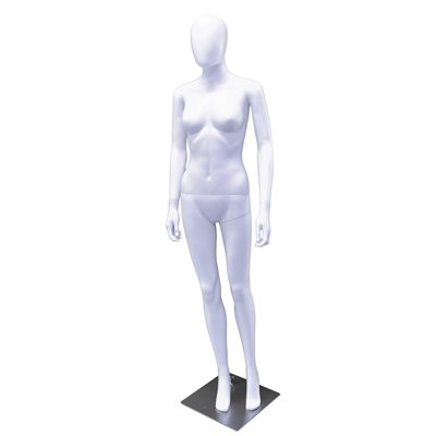 Plastic Mannequin Female CD6 White