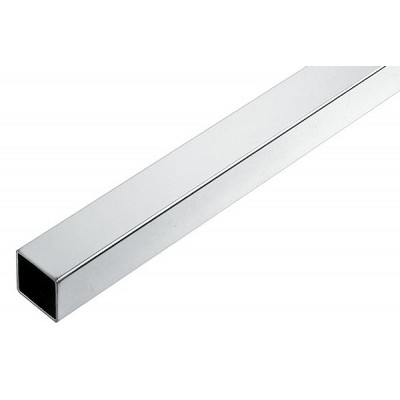 Square Tube 25x25mm 3000mm Chrome