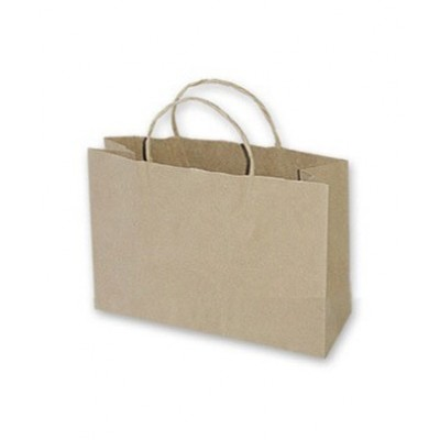 Boutique Brown Paper Bag 450x90x350 (pack 100)