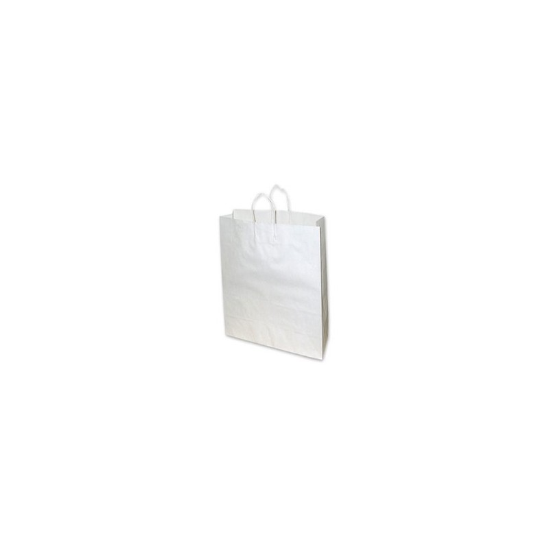 Extra Small White Paper Bag 160x50x260 (pack 100)