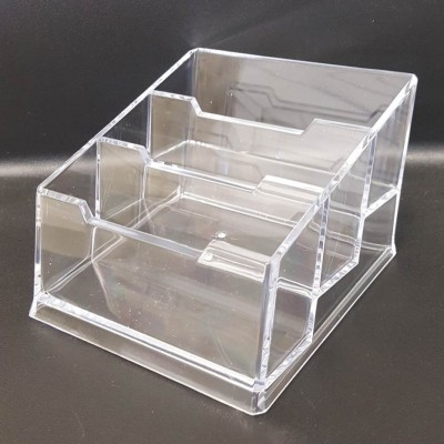Business card holders shopfittings store 3 tier business card holder reheart Gallery