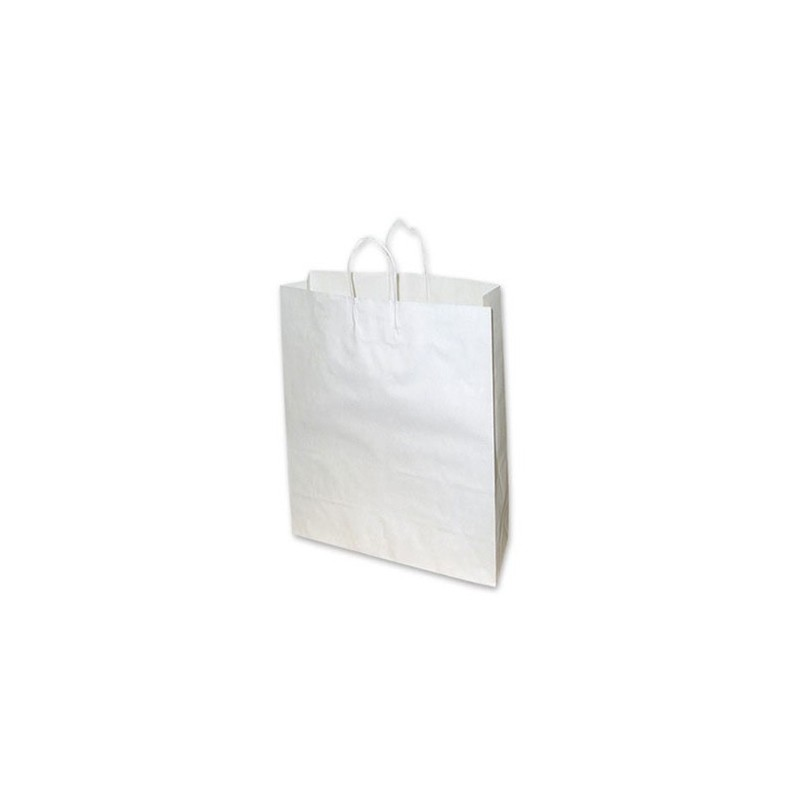 Medium White Paper Bag XX Pack