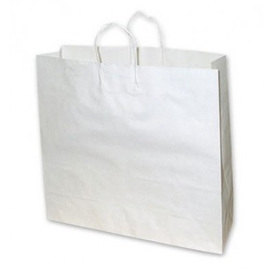 Large White Paper Bag 450x125x500 (pack 100)