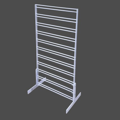Counter Slat Grid Stand Double Sided