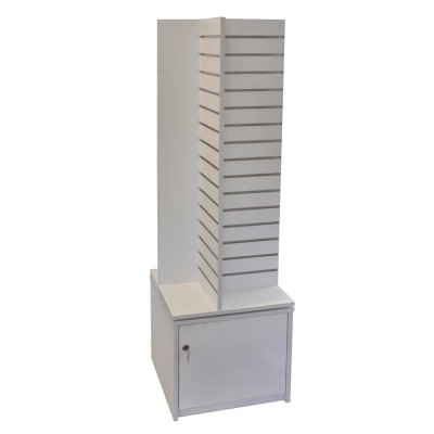 Slat Panel Gondola 4 way with Storage